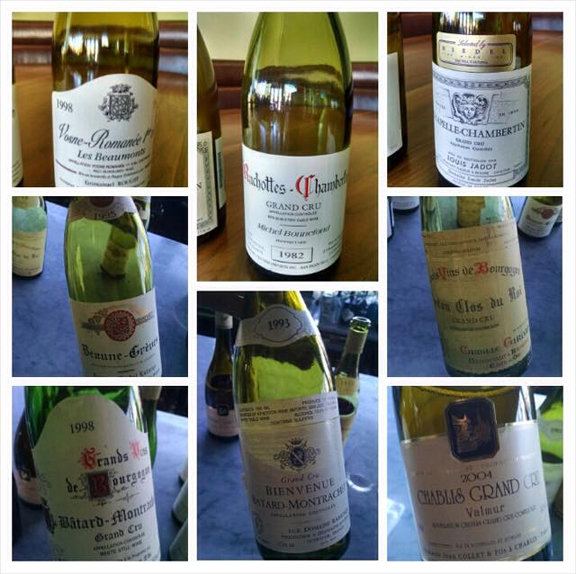 best flight burgundy wines